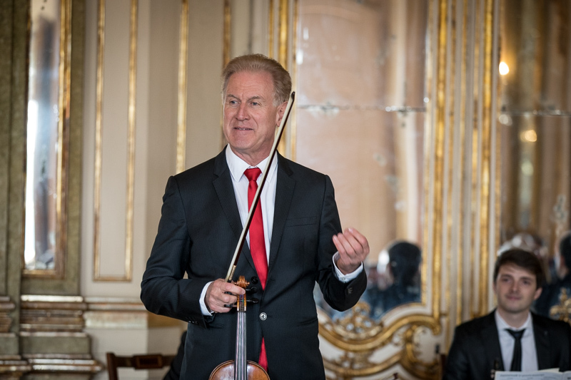 Apresentação do 5° FIMM: Presidente da República ofereceu concerto ao Corpo Diplomático