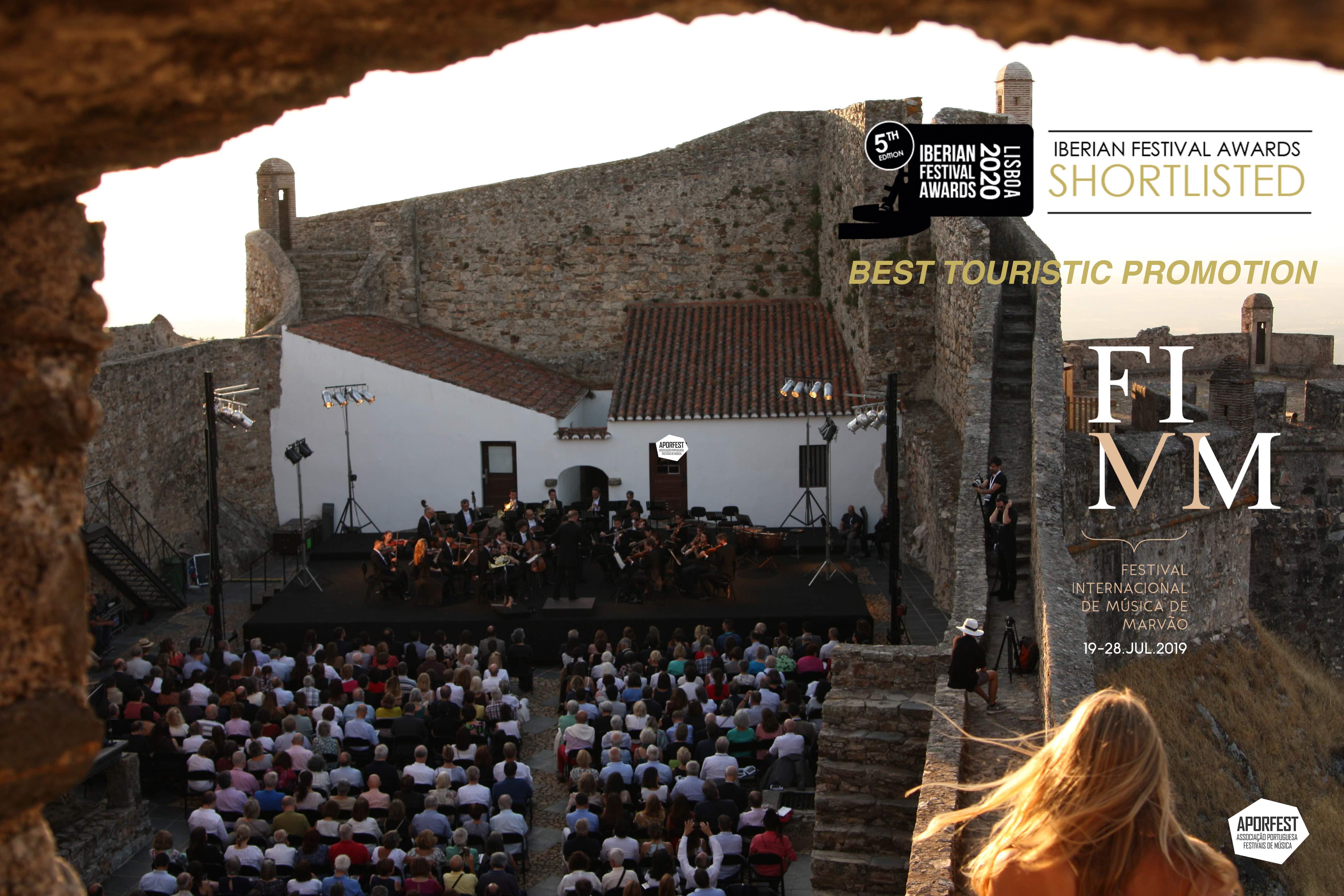 Festival de Marvão finalista Iberian Festival Awards 2020